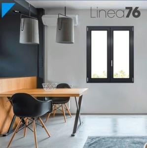 Linea LINEA 76 - Finestre in PVC