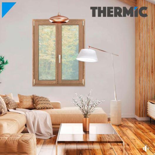 Linea THERMIC - Finestre in Legno-Alluminio