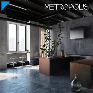 Linea METROPOLIS - Finestre in Alluminio